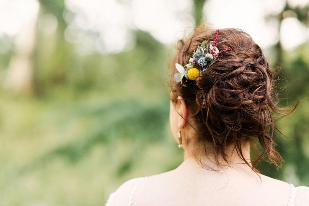 Fleuriste Perpignan peigne mariage