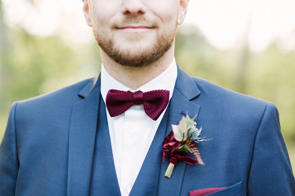 Fleuriste Perpignan boutonnière mariage