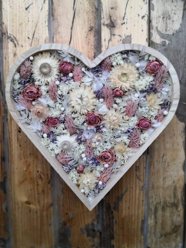 Cœur fleuri
